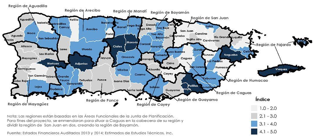 2016 ESTUDIO PARA EVALUAR LA ESTRUCTURA MUNICIPAL DE PUERTO RICO